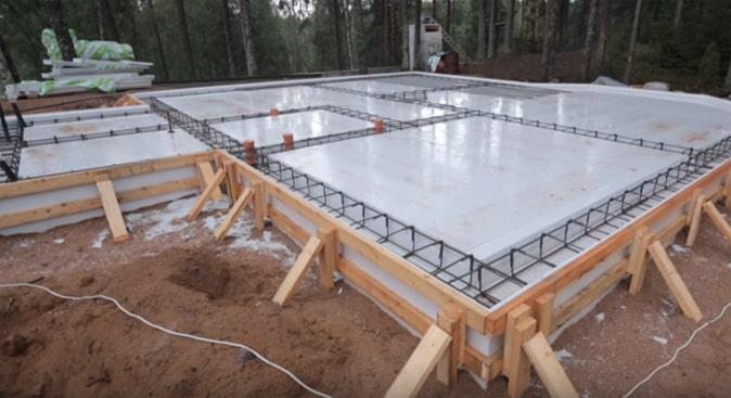 Заливка бетона калининград смеси бетонные зимние